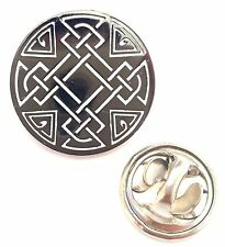 Scotland Celtic Eternal Life Enamel Lapel Pin Badge T798