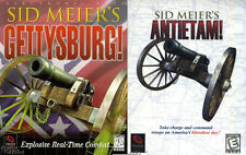 SID MEIER'S GETTYSBURG! & ANTIETAM! +1Clk Windows 10 8 7 Vista XP Install
