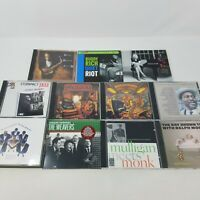 Jazz CD Collection of 12 - Ray Brown, Buddy Rich, Monk, Watson - Very Good Lot