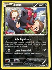 Carte Pokemon ZORUA 90/162 Reverse XY8 Impulsion TURBO FR NEUF