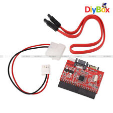 2 in 1 IDE to SATA SATA to IDE Adapter Converter Power Cable Support ATA 100/133