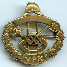 Finland Firefighter Badge Fireman VPK Service 30 Years