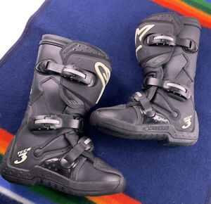 Alpinestars Womens Stella Tech 3 Boots Motocross Dirtbike Off Road ATV Worn Once
