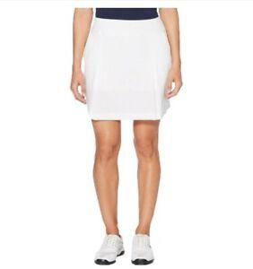 Callaway Women's Woven Golf Skort (Small, White)