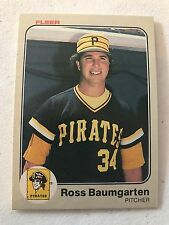 1983 Fleer Ross Baumgarten Pittsburgh Pirates 302
