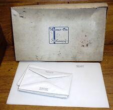 Vintage Name-On Stationery - Minnie J. Carter 539 W. Bridge St Phoenixville PA