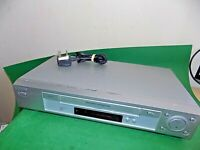 SONY VCR VHS VIDEO CASSETTE RECORDER Vintage SLV-SE730 Silver Smart Fully Tested