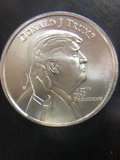 Donald Trump - 45th President of the USA 1oz .999 Fine Silver Coin
