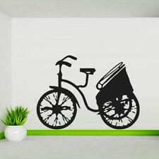 Wall Decal Sticker Vinyl Bike Rickshaw Carriage Japan Tour Room M449