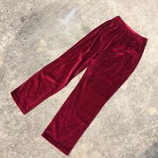 Vintage 70s Womens M'lady Velour Velvet Pants Boho Mod Atomic Disco Hippie 32