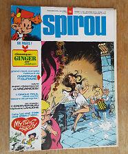 SPIROU N°1996 / DU 15 JUILLET 1976 / AVEC SUPPLEMENT JIDEHEM / B+.