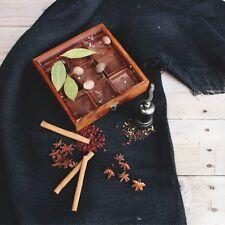 Handmade Sheesham Wood Spice Box / Masala Box / Spice Rack / Gift / Jewelry Box