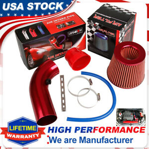 3Inch Cold Air Intake Filter Induction Kit Pipe Flow Hose System Car Accessories