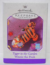 1998 Hallmark Keepsake Ornament Tigger in the Garden-Qeo8436