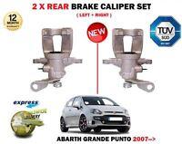 FOR FIAT GRANDE + PUNTO + EVO 199 2005->NEW 2X REAR LEFT + RIGHT BRAKE CALIPER