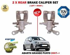FOR FIAT GRANDE + PUNTO + EVO 199 2005->NEW 2X REAR LEFT + RIGHT BRAKE CALIPER