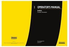 NEW HOLLAND E485C EXCAVATOR OPERATORS MANUAL
