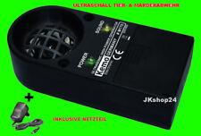 KEMO M175/NT inkl. Netzteil Ultraschall MARDER-SCHEUCHE TIER-STOP SCHRECK ABWEHR
