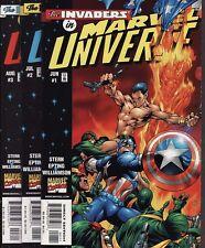 MARVEL UNIVERSE #1,2,3/VARIANT/ALL-NEW INVADERS #1 Comics Captain America Namor