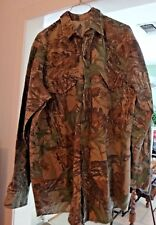 Men's L or XL Long Sleeve Button Down Hunting Realtree Camo Shirt Thick cotton