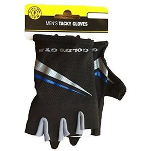 Gold's Gloves Gym Men's Tacky Half-finger Weight Lifting (M/L)