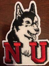 """Northern Illinois University Huskies embroidered iron on patch 3""""x 2"""""""
