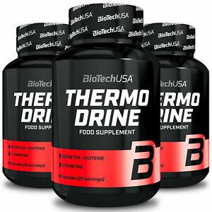 BIOTECH USA THERMO DRINE - Stark wirksame Fettverbrenner - Schlankheitspillen