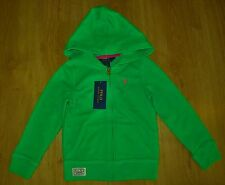BNWT Girl's Ralph Lauren Green Hoodie/Hoody Jacket Size 4T (3-4 years)