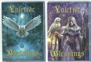 Yule/Christmas/Midwinter Solstice Festive Cards Pagan/Wicca Fantasy Gothic