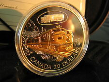 "2003 Canada Silver 20$ Transportation ""Canadian National FA-1"" Series#4, Coin#2"