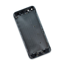 Apple iPhone 5s Blank Rear Case Replacement Repair Part Black