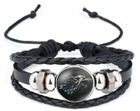 Game of the Thrones Wolf Dragon WRISTBAND WRIST STRAP BAND BRACELET B049 a F01