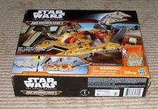 Disney Star Wars Force Awakens Micro Machines Millenium Falcon Playset! B3533