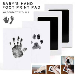 Handprint Stamp Hand Baby Paw Pad FootPrint Touch Ink Pad Newborn Souvenir Gift