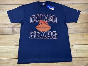VTG NWT 90's 1994 Champion Chicago Bears Football Logo T-Shirt XL Made USA