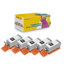 Compatible 5-PK BCI-10 Black Ink Cartridge for Canon BJ-30 BJCAN-70