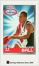 2007 Kraft Dairy AFL Action Heroes Card #14 Luke Ball (St. Kilda)