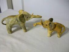 2 Beautiful Elephant Figurines
