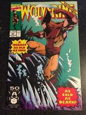Wolverine#44 Incredible Condition 9.2(1991) Silvestri Art!!