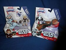 Star Wars Galactic Heroes Han Solo / Tauntaun / Scout Trooper Speeder LOT NEW