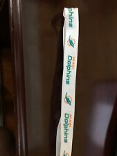 Rare Miami Dolphins NFL White Lanyard New Never Worn Great Condition