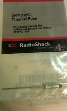 Thermal Fuse 250VAC 10A #270-1322 by RadioShack