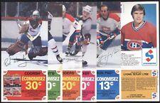 1982-83 STEINBERG POSTCARD MONTREAL CANADIENS HOCKEY POST CARD & ALBUM SEE LIST