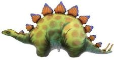 "Dinosaur Dino Stegosaurus Shape Green Brown 46"" Birthday Party Mylar Balloon Xxl"