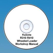 Kubota R310 & R410 con Ruote Carico - Manuale D'Officina
