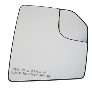 OEM Right Passenger Side View Power Mirror Glass 15-18 Ford F-150 FL3Z17K707A