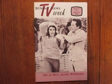 March 7-1965 Lancaster Pa TV Week Maga(CLAUDINE LONGET/ANDY WILLIAMS/MARY MARTIN
