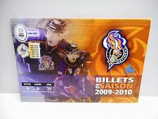 Vintage - GATINEAU OLYMPIQUES - QMJHL - 2009-2010 Season Tickets Book - Unused