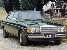 1975 Mercedes Benz 240 Sedan, Refrigerator Magnet, 40 MIL