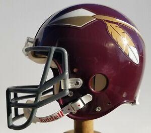 Washington Redskins Full Size VSR-4 Riddell Large Authentic Helmet w- Gray Mask